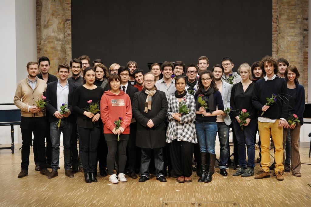 Foto der Preisträgerinnen und Preisträger des Jahres 2014