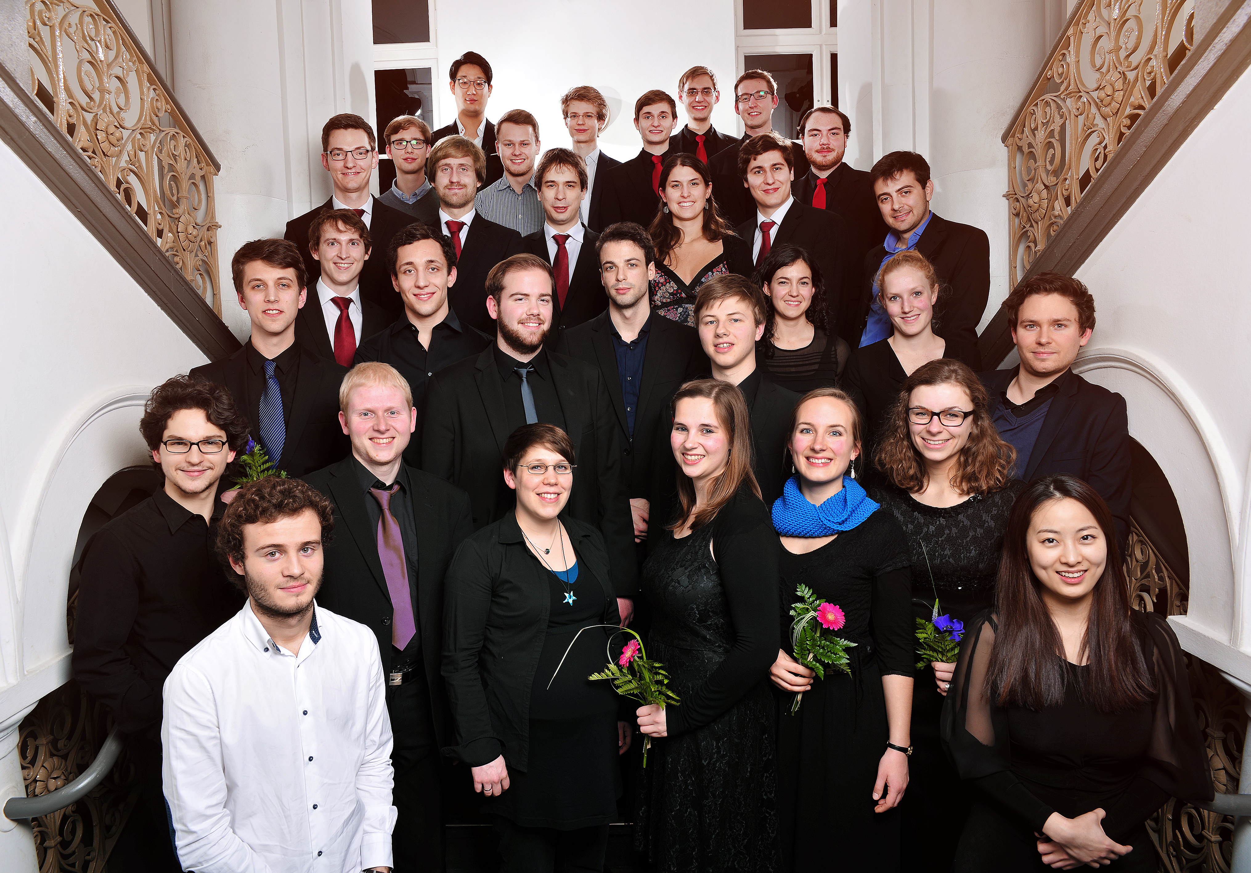 Foto der Preisträgerinnen und Preisträger des Jahres 2015