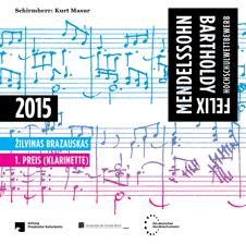 Cover der CD von Zilvinas Brazauskas