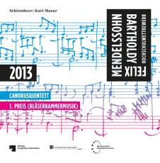 Cover der CD des Canorusquintetts
