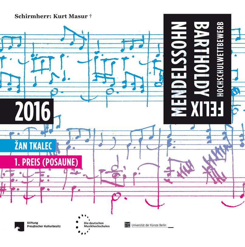 Cover der CD von Žan Tkalec