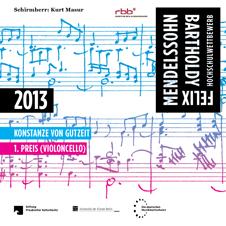 Cover der CD von Konstanze von Gutzeit