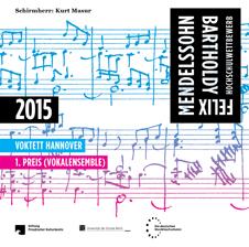 Cover der CD des VOKTETT Hannover