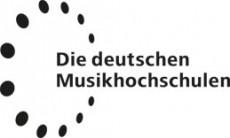 Logo Die deutschen Musikhochschulen