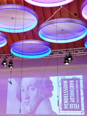 Foto Projektion Mendelssohn