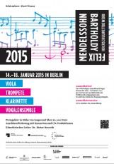 Plakat Ausschreibung 2015